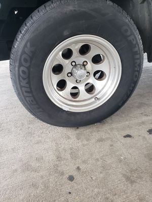 "Set of 15 ""aluminum Wheels and tires for Sale in Portsmouth, VA"