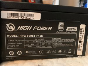 High power 600w power supply for Sale in Liverpool, NY