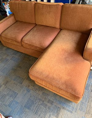 Free couch with built in ottoman....odor free for Sale in Oakley, CA