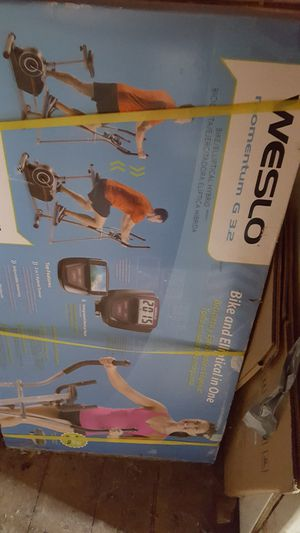 Weslow Elite exercise bike and elliptical in one for Sale in Hanover, PA