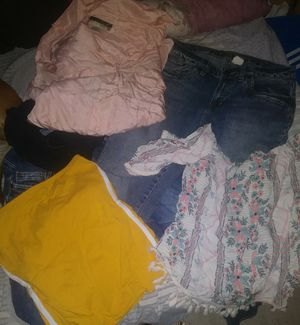 Free ....Womens mixed clothing take all as is for Sale in Colton, CA