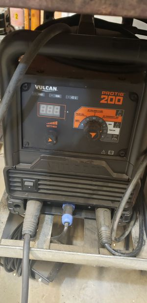 Volcan tig welder for Sale in Manteca, CA