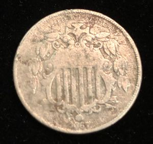 1867 Shield Nickel for Sale in Clyde, TX