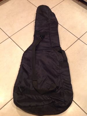 Guitar carrier bag with handles for Sale in Homestead, FL