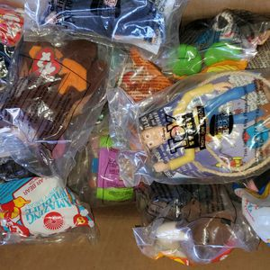 Lot Of 40 Random VINTAGE 1990's UNOPENED MCDONALD'S HAPPY MEAL TOYS DISNEY BENNIE BABIES & MORE all For $25 for Sale in Clovis, CA