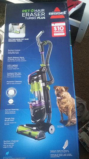 Bissell pet hair eraser turbo vacuum cleaning system for Sale in Milwaukie, OR