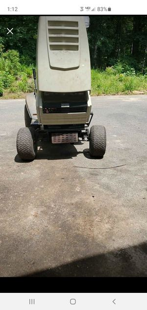 White ride on mower for Sale in Brimfield, MA