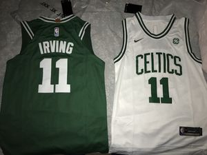 Kyrie Irving Boston Celtics new nike Swingman Jerseys $50 each. Men Sizes Small - XXL Brand New With Tags. for Sale in Centreville, VA