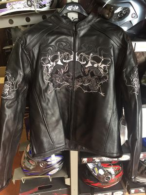 New motorcycle leather armor jacket $160 for Sale in Santa Fe Springs, CA