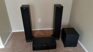Klipsch Speakers and Outlaw Subwoofer for Sale in Moapa, NV