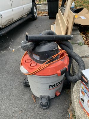 6.0 mph vacuum rigid for Table saw for Sale in Everett, MA