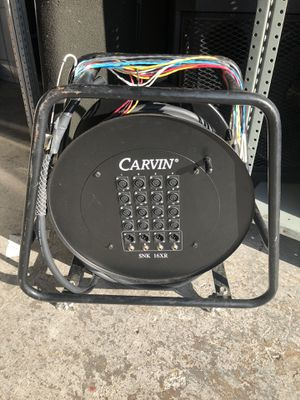 CARVIN SNK 16XR PRO AUDIO SNAKE CABLE for Sale in Stuart, FL