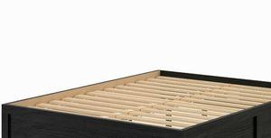 QUEEN SIZE BLACK PLATFORM BED for Sale in Washington, DC