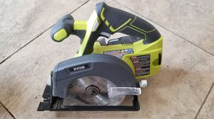 New Ryobi ONE+ 18-Volt Lithium-Ion 5 1/2 in. Circular Saw (P505) for Sale in Hemet, CA