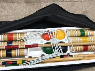 Sportcraft Croquet Set 4 Player for Sale in Hillburn,  NY