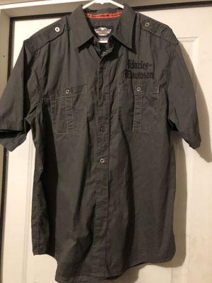 Harley Davidson Button Down Shirt for Sale in Bristow, VA