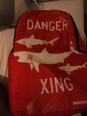 Sprayground Danger Xing Backpack for Sale in Snellville, GA