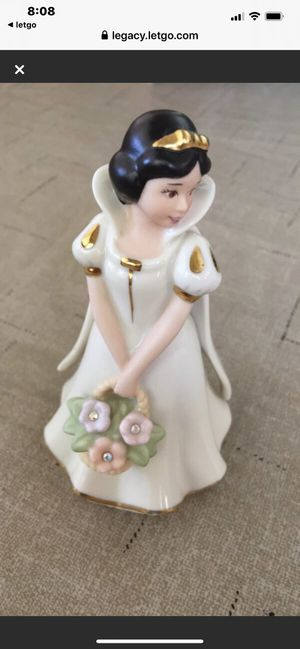 Disney's Lenox Snow White with flower basket (have 2) for Sale in Danville, CA