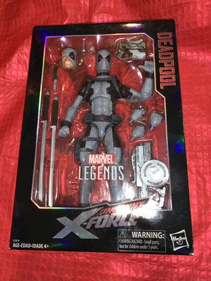 Marvel Legends Uncanny X-Force Deadpool 12 inch Action Figure for Sale in Marietta, GA