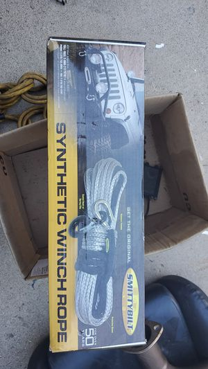 SMITTYBILT Synthetic Winch Rope for Sale in San Diego, CA