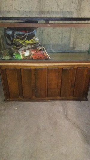 I WANTS TO BUY FISH TANK EQUIPMENT FOR a 55 GALLON TANK Fliters Hood and lights. Heaters. Airpump for Sale in St. Louis, MO