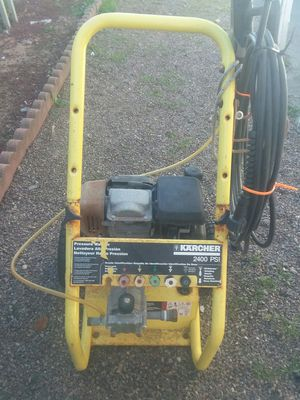 Pressure washers marca KARCHER 2400 psi motor honda for Sale in San Marcos, CA
