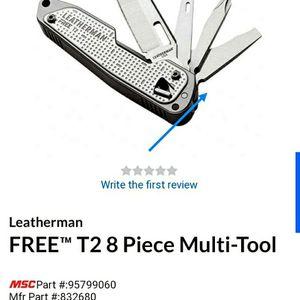 Open Box Leatherman Free T2 Multitool for Sale in Wichita, KS