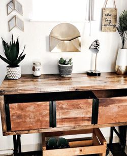 Boho Rustic industrial Entryway/Console table for Sale in Gig Harbor,  WA
