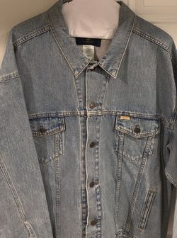 Levi Strauss Signature 1873 Men's Size 4XL Denim Jean Jacket for Sale in Decatur,  GA