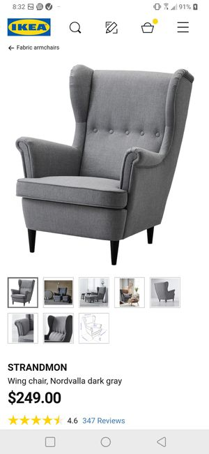 Gray sofa chair (theirs another one also) for Sale in Houston, TX