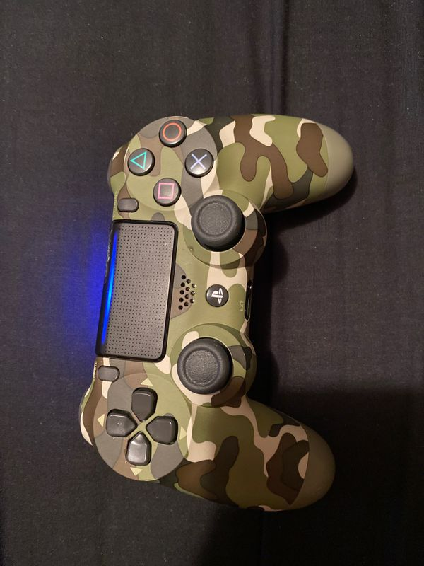 Camouflage ps4 controller
