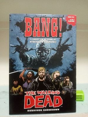The walking dead Bang board game for Sale in Fresno, CA