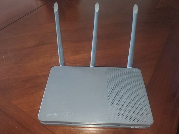 Amped wifi Router