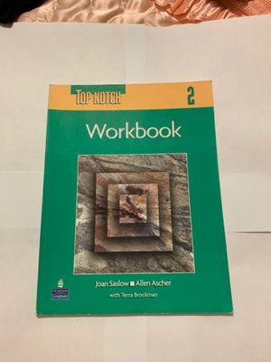 Top Notch 2 workbook for Sale in Opa-locka, FL