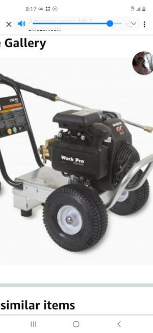 Work pro pressure washer for Sale in Riverside, CA
