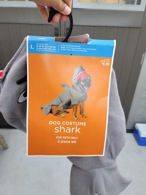 Dog large shark costume for Sale in Los Angeles, CA