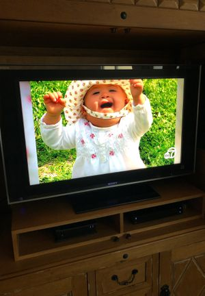 Sony 42 inch flat screen TV with remote for Sale in Murrieta, CA