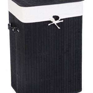 New Rectangle Bamboo Hamper Laundry Basket for Sale in Whittier, CA
