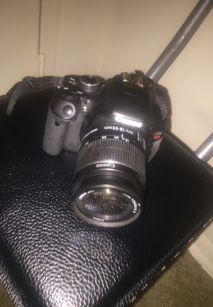 Canon Camera $250 FIRM Model Rebel T3i for Sale in Washington, DC