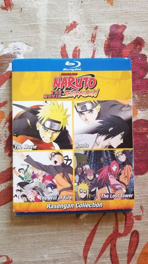 Naruto Shippuden Rasengan Collection (BluRay) for Sale in Wichita Falls, TX