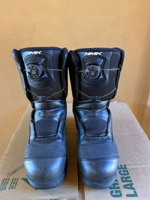 HMK Voyager BOA Men Snowmobile Boots 11 for Sale in Sacramento, CA