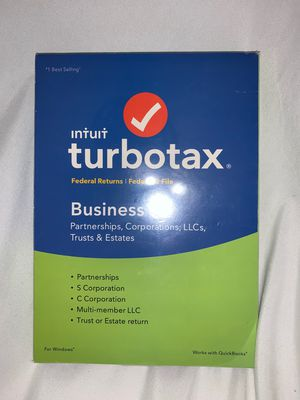 Intuit TurboTax Business 2018 - NEW for Sale in Fort Pierce, FL