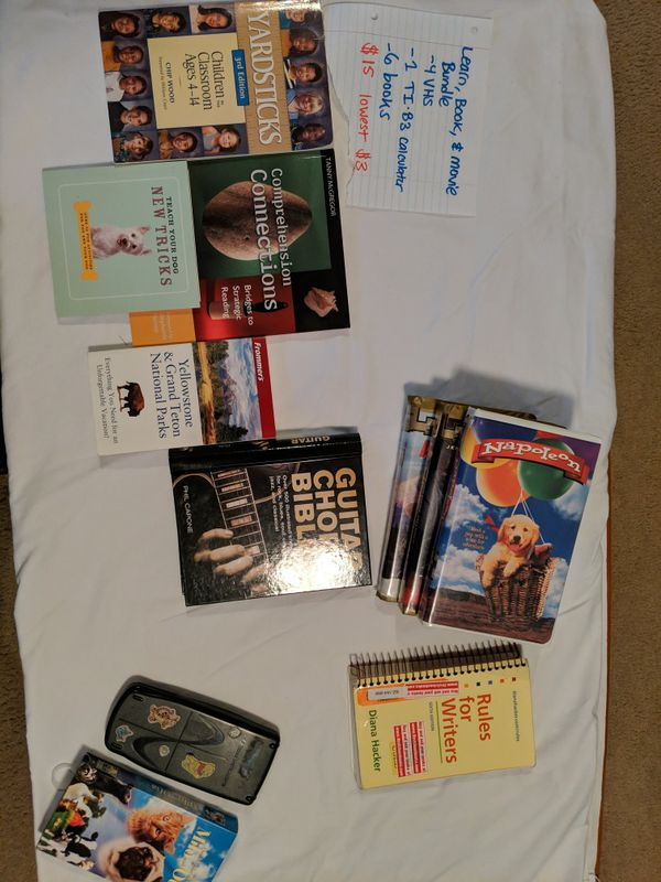 Learning Book and Movie bundle