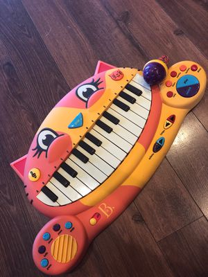 Kids keyboard with sound affects, microphone and drums - learn music, home school for Sale in AZ, US