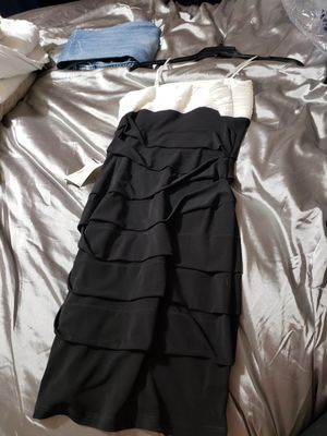 White and Black Dress Size Small for Sale in Winter Haven, FL