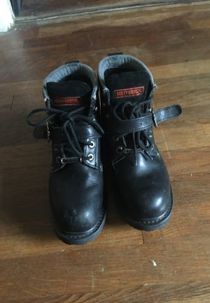 Women's Harley Davidson riding boots size 7 for Sale in Austin, TX