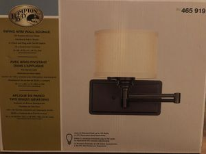 Wall Sconce swing arm lamp set new in box for Sale in Winter Haven, FL