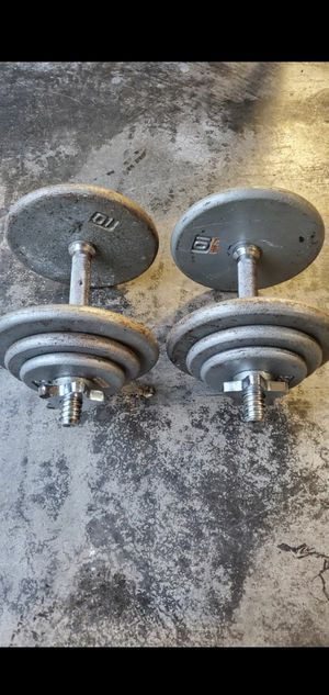 35x2 lbs Adjustable Dumbbell set for Sale in Kent, WA