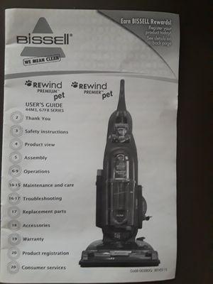 Vacuum Cleaner Bissell Rewind Premium Pet for Sale in Fort Lauderdale, FL