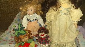 4 porcelain dolls for Sale in Lincoln, NE